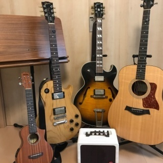 【大阪】エレキギター、アコースティックギターレッスン生徒募集