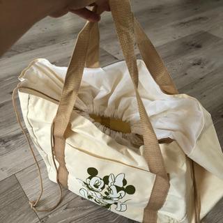ミッキー&ミニーちゃん 買い物かごバッグ エコバッグ