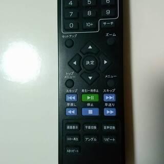 【中古美品】Qriom DVDリモコン