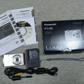 デジカメ LUMIX (DMC-FH5) SDカード付