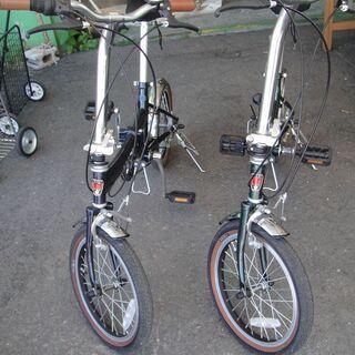 ROVER(ローバー) 16インチ折りたたみ自転車 6段切…