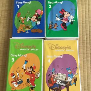 ディズニー 英語 プログラム VHS song along