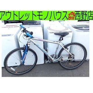 自転車 24インチ ジュニアサイクル 6段切替 黒 6段変…