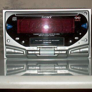 中古整備保管品■SONY CD/TAPE 1DIN カーステレオ...