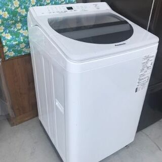 ほぼ新品【洗濯機】パナソニック製・1週間使用しました
