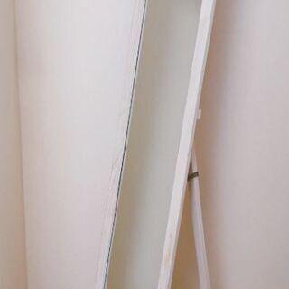 アンティーク加工 木製 姿見 全身鏡 全身ミラー