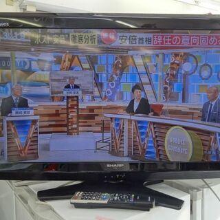【恵庭】㉚ シャープ AQUOS 32インチ 液晶テレビ LC-...