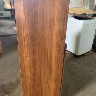 アンティーク調 食器棚 木製 ダークブラウン 木目 配送OK 良品 - 売ります・あげます