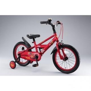 16インチカーズ自転車 赤