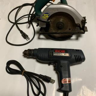 ジャンク、電動工具、3個セット
