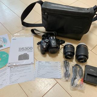 【ほぼ未使用】Nikon D5300 ダブルズームキット