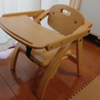 大和屋 アーチ 木製ローチェアー 中古