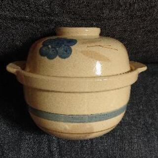 【無料】小さい土鍋 炊飯鍋