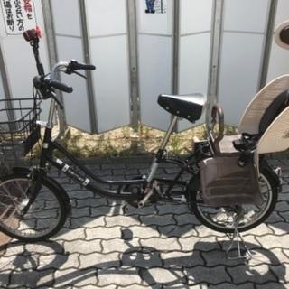取引中 アサヒサイクル 子供のせ 自転車 ブラック 中古 …