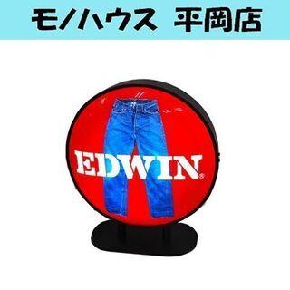 希少 EDWIN エドウィン 店頭販促品 電飾 看板 レア 札幌...