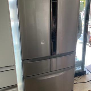 HITACHI ノンフロン冷凍冷蔵庫 R-F440E 2015年製