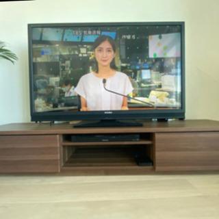 【大人気】 ローテレビ台 180cm.の画像