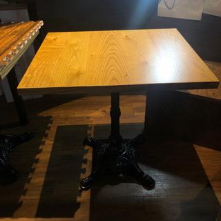 木材テーブル (カフェで使用したテーブル 10つ) 取引希…