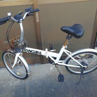 PANGAEA 20インチ コンパクト折りたたみ自転車 ジャンク...