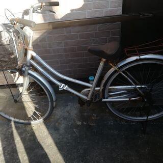 ママチャリ 自転車 ジャンク