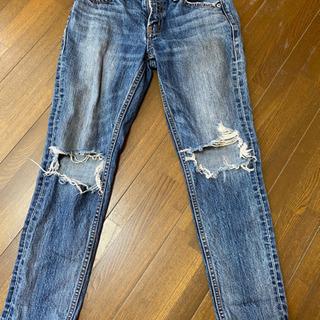 moussy マウジー ダメージジーンズ 24サイズ