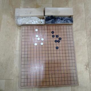 中古★折り畳める 囲碁セット