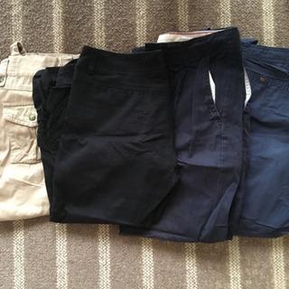 夏生地 パンツ 4本セット
