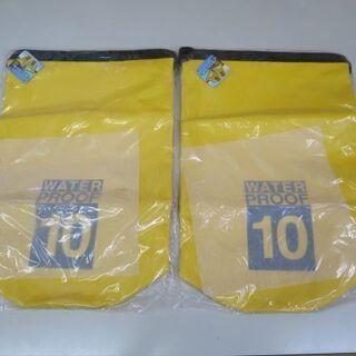 WATER PROOF BAG 10L 防水バッグ 2個セット ...
