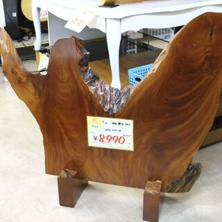 【おすすめ品】天然木 一枚板 衝立 欅 けやき レア商品♪