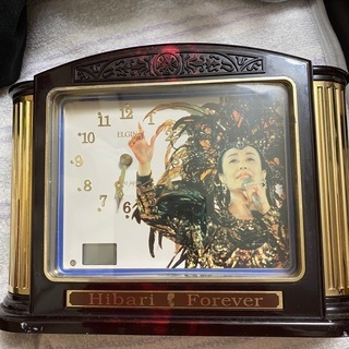 美空ひばり50周年記念時計【オルゴール付き】