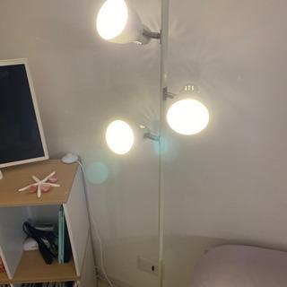 照明 LEDライト3個付き 床置き