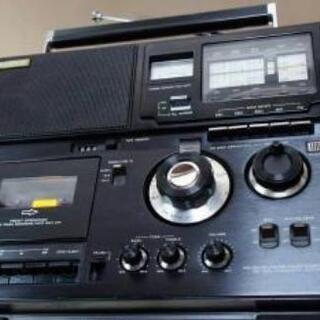 昔使っていたラジオ‼️ラジカセ捨てないで