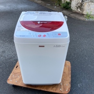 💕【取付無料😍】シャープ 5.5Kg 洗濯機