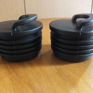 カヤックのスカッパーホール用栓 2個セット 新品未使用品