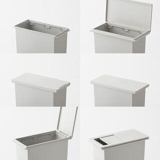 無印良品・蓋付き*ポリプロピレンフタが選べるダストボックス・ゴミ箱