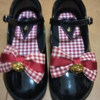 靴 女児  サイズ18