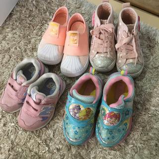 子供 女の子靴セット