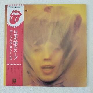 ★レコード  LP★ ローリングストーンズ  山羊の頭のス…