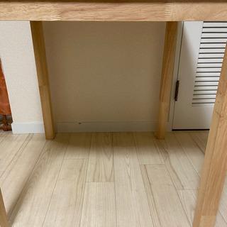 ニトリ テーブル  IKEA イス2脚