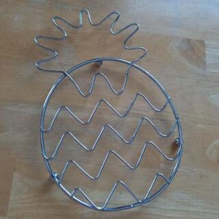 新品🍍パイン型の鍋置き🍍
