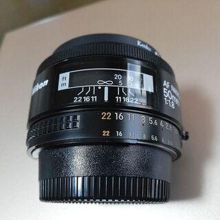 NIKON AF 50mm F1.8 nonD レンズ