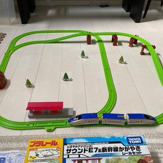 プラレール サウンドE7系新幹線かがやきレールセット