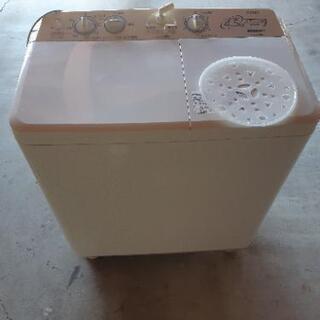 AQUA 二層式洗濯機 日本製の画像