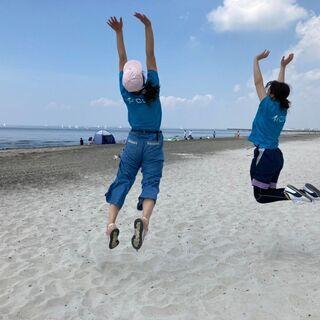 ジャパンビーチゲームズフェスティバル千葉2020ビーチクリーン
