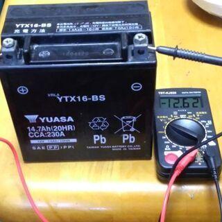 1/2 台湾ユアサバッテリー YTX16-BS FTH16-BS...
