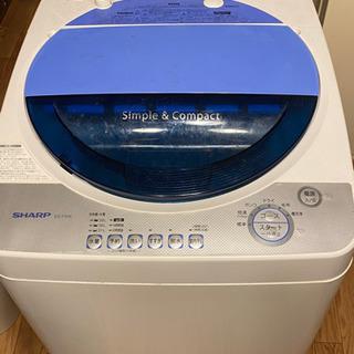 【美品】SHARP コンパクト洗濯機