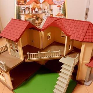 市場価格14670円 紛失パーツ無 箱あり あかりの灯る大きなお家