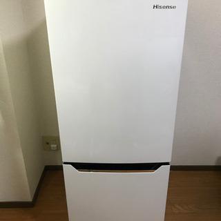 150L 2018年製 ハイセンス 冷凍冷蔵庫(幅48cm) 1...