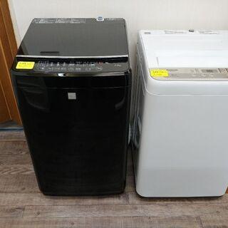 本日 洗濯機2台入りました。
