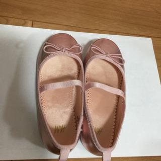 値下げ H&M ピンクゴールド ドレス 靴 US9.5 E…